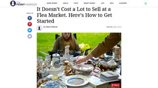Selling at Flea Markets: Here's How to Get Started - The Penny Hoarder