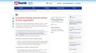 FlexPerks Corporate Rewards - US Bank