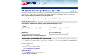 FlexPerks Enroll Form