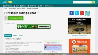 FlirtFinder dating & chat 1.1 Free Download