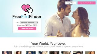 FreeFlirtFinder.com - Find Free Flirts and Dating Hookups