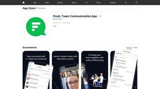 Flock: Team Communication App on the App Store - iTunes - Apple