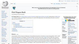 First Niagara Bank - Wikipedia