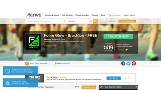 Foam Glow - Brockton - FREE - Brockton, MA 2019 | ACTIVE