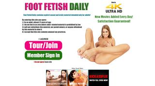 Foot Fetish Daily: The #1 Foot Fetish Site on the Internet