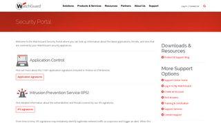 Security Portal | WatchGuard Technologies