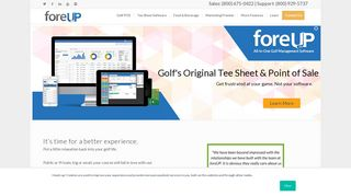 Golf Course Management Software: All-In-One | foreUP