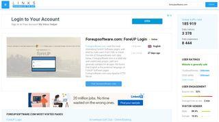 Visit Foreupsoftware.com - ForeUP Login.