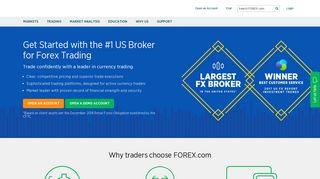 Forex Trading Online | FX Markets | Currencies, Spot Metals & Futures ...