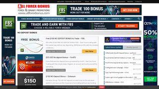 Forex NO Deposit Bonus 2019 - Latest Promotions | All Forex Bonus
