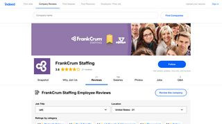 Working at FrankCrum Staffing: Employee Reviews   Indeed.com
