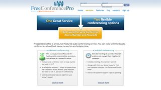 FreeConferencePro | FREE Teleconferencing Services