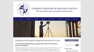 Florida Surveying and Mapping Society