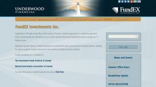FundEX - Underwood Financial