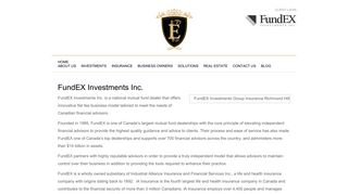 FundEX Investments Inc. | Elite Private Wealth