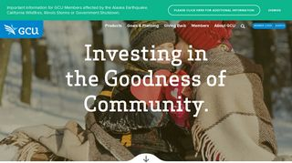 GCU | Investing in the Goodness of Community