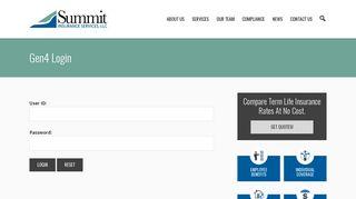 Gen4 Login - Summit Insurance Services