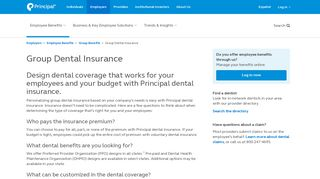 Group Dental Insurance - Principal Financial