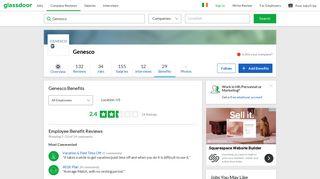 Genesco Employee Benefits and Perks | Glassdoor.ie