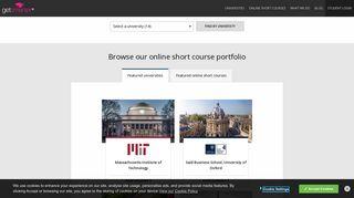 GetSmarter   Online Courses with the World's Top Universities