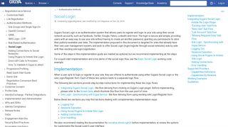 Social Login - Gigya Documentation - Developers Guide