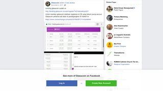 Glasscoin - Lending glasscoin sudah on...   Facebook