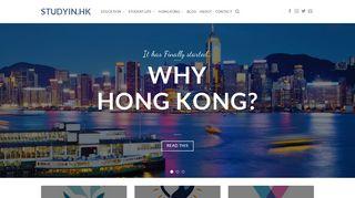 studyin.hk – Study in Hong Kong