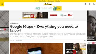 Google Maps - Everything you need to know!   iMore