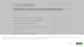 Gmail login: How to change Gmail password on mobile - Android and ...