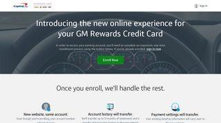 GM Rewards Credit Card