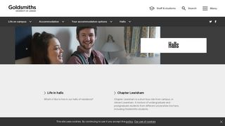 Our halls and available accommodation | Goldsmiths, University of ...