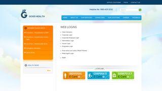 WEB LOGINS | GOOD HEALTH INSURANCE TPA