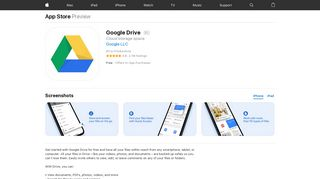 Google Drive on the App Store - iTunes - Apple