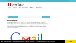 Gmail problems | Down Today