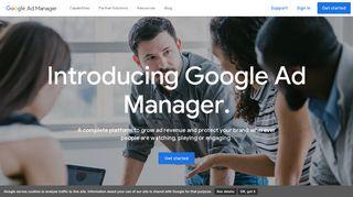Google Ad Manager - Integrated Advertising Management Platform