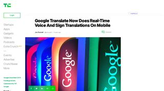 Google Translate Now Does Real-Time Voice And Sign Translations ...