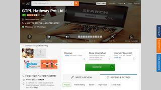 GTPL Hathway Pvt Ltd - Broadband Internet Service Providers in ...