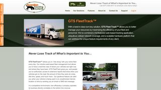GTS FleetTrack™ — Guardian Tracking Systems
