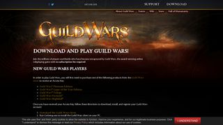 Download and Play Guild Wars!