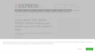 Lloyds Bank, TSB, Halifax DOWN: Online banking and mobile app ...