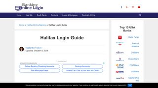 Halifax Login Guide   Login Guides for Online Banking