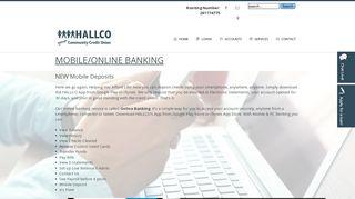 HALLCO - Mobile Banking