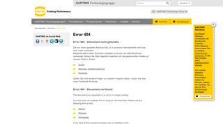 Supplier Information - HARTING Technology Group - HARTING.com