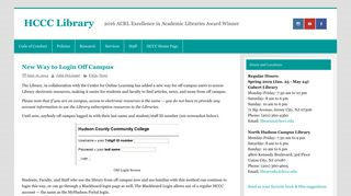 New Way to Login Off Campus – HCCC Library