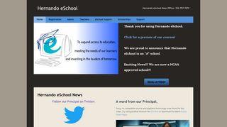 Hernando eSchool - Hernando eSchool