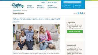 Patient Portal - Olathe Health