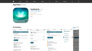 HealtheLife on the App Store - iTunes - Apple