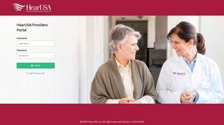 Provider Portal - Welcome - HearUSA.net