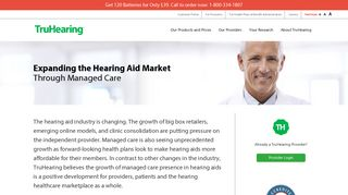 TruHearing | For Hearing Aid Providers