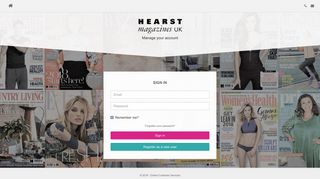 Sign in - Online Customer Services - Hearst Magazines